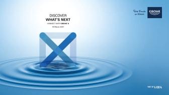 """GROHE lancerer branchens første digitale oplevelses-hub """"GROHE X"""""""