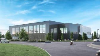 Teknikinstallationer är en stor del av ett simhallsprojekt. Byggnaden förses med solceller och all solenergi som tillverkas kommer gå till simhallen. Bild: Norconsult