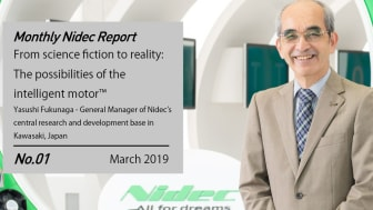 Monthly Nidec Report - From Science Fiction to Reality: The Possibilities of the Intelligent Motor™