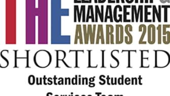 Awards shortlist for student services team