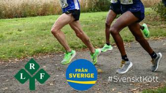 Från Sverige går in i ett nytt spännande sponsorsamarbete med TCS Lidingöloppet tillsammans med LRF och Svenskt Kött.