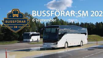 Bussförar-SM avgörs den 6 september