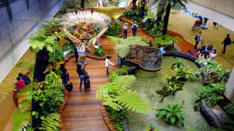 The Enchanted Garden at Changi Airport Terminal 2