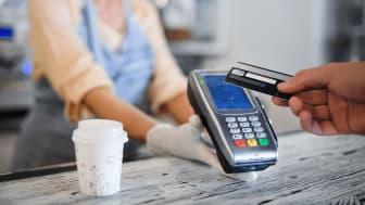 Entercard-kunder betaler stadig mer kontaktløst
