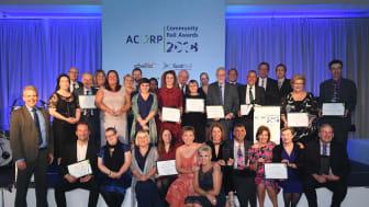 Winners of the ACoRP Community Rail Awards 2018