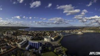 70 procent av alla utländska resenärer väljer Jönköping