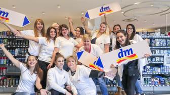 Ab dem 28. November ist das dm-Team in Metzingen für die Kunden da