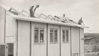 Fräntorp - en bild från självbyggeriets dagar