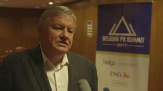 Belgan PR Summit 2017 - Interview avec Jean Claude Marcourt