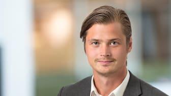 Johan Karlsson, tillträdande kontorschef Grant Thornton Luleå