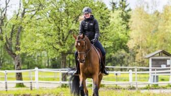 Ökat intresse för hästutbildningen Ridning i Skåne