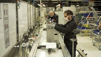 SEAT producerer respirator med motor fra vinduesvisker