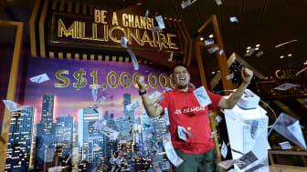 Changi Airport crowns Indonesian Ade Iskandar Roni its seventh Changi Millionaire.