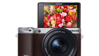 Tarkkoja kuvia ja 4K-videota Samsung NX500 -kameralla