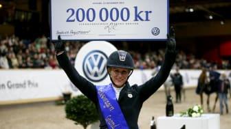 Angelica Augustsson vann Volkswagen Grand Prix