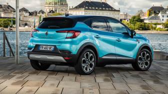 Renault Captur nu nummer et i Danmark