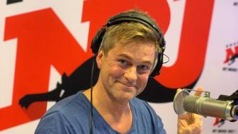 Niclas Wahlgren i NRJ-studion.