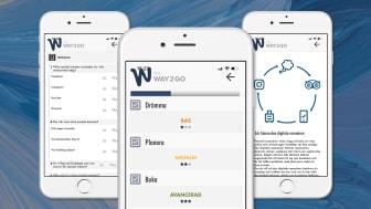 Appen Way2go ska hjälpa företag inom besöksnäringen att analysera sin digitala status.