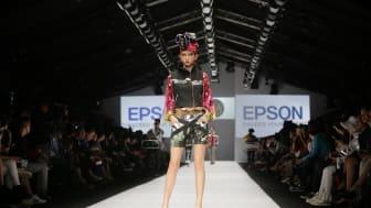 "Koleksi dari Sky.Inc dalam Fashion Show Epson ""Print Your Passion"""