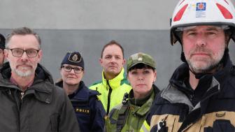 Totalförsvaret består av civilt och militärt försvar. Det är samhället tillsammans – kommuner, regioner, myndigheter, näringsliv, frivilligorganisationer och privatpersoner – som är vårt totalförsvar. Foto: Försvarsmakten
