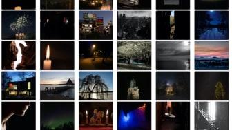 """""""Ljus och mörker"""" var temat för Lindesbergs Fotoklubbs månadstävling i november."""