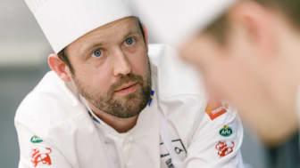 Alexander Sjögren inför kock-VM i Lyon.
