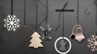Zarte Engel, Schneeflocken oder Tannenbäume: die Rosenthal Silver Collection macht mit ihren Weihnachtsanhängern den diesjährigen Tannenbaum zu einem besonderen Highlight.