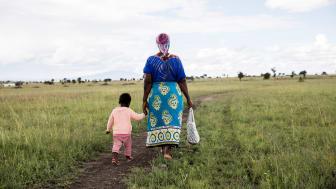 Hand in Hand-entreprenören Nzembi i Kenya