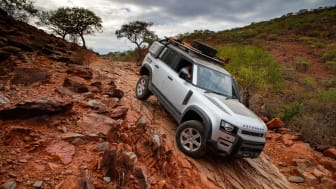 Goodyear kommer att leverera två typer av däck för fyrhjulsdrivna bilar till nya Land Rover Defender.
