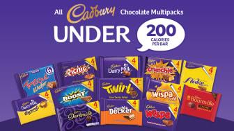 Mondelēz International removes 10 billion calories from UK market by bringing 100% of Cadbury bars sold in multipacks under 200 calories