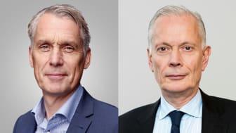Ola Evensson och Sten Dunér. Foto: Länsförsäkringar