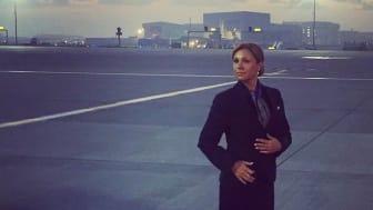 YH-utbildningen blev början på en ny karriär för flygvärdinnan Jennie