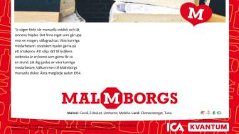Låt oss välja den bästa biten åt dig! Profileringskampanj Malmborgsgruppen.