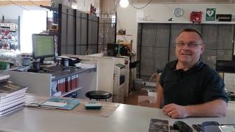 """Bo """"Bobo"""" Öhlén, platschef i butik under ombyggnad!"""