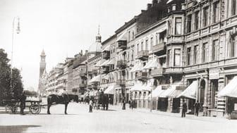 Så här har Helsingborgs paradgata ändrat karaktär genom åren.