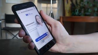 Med den nya tjänsten kan patienter bland annat chatta med hälsocentralen.