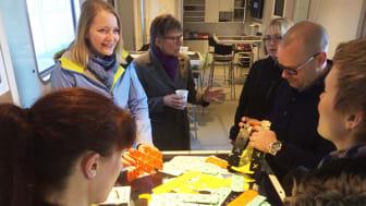 Trekantområdets skoler får idélaboratorium i skolegården
