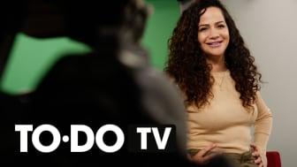 Suuz Naffah är programledare för TODO-TV. Foto: © Malmö stad, Frasse Franzén