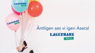 Lagerhaus återvänder till Asecs köpcentrum i Jönköping med ny pop-up butik!