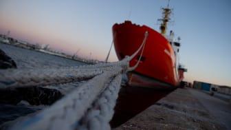 Läkare Utan Gränsers räddningsfartyg Aquarius tvingades avsluta sina räddningsinsatser på Medelhavet i december i fjol Bild: Ikram N'gadi