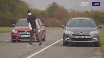 ALKS technology may not detect a pedestrian encroaching onto a carriage way (see video below)