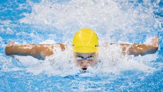 SM i simning avgörs på Munktellbadet i Eskilstuna.