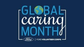 """September är sedan 15 år tillbaka """"Global Caring Month"""" på Ford. I år ställer företaget om och anpassar sig efter den pågående pandemin."""