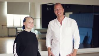 Josefine Sebring och Robin Berkhuizen.