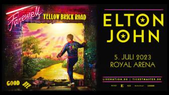 Elton John udskyder sin forestående 'Farewell Yellow Brick Road' UK og Europatour