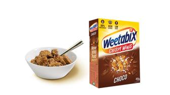 Knasende Weetabix Minis med herlige sjokoladebiter