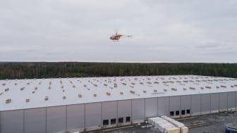 Apotea bygger Sveriges största solcellstak i Morgongåva