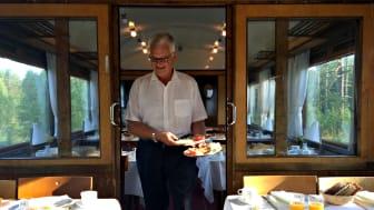 Restaurangvagn Vildmarkståget