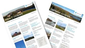 Siste nytt om Hitra 2 og Geitfjellet vindparker