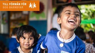 Yepstr ny kampanjpartner till SOS Barnbyar